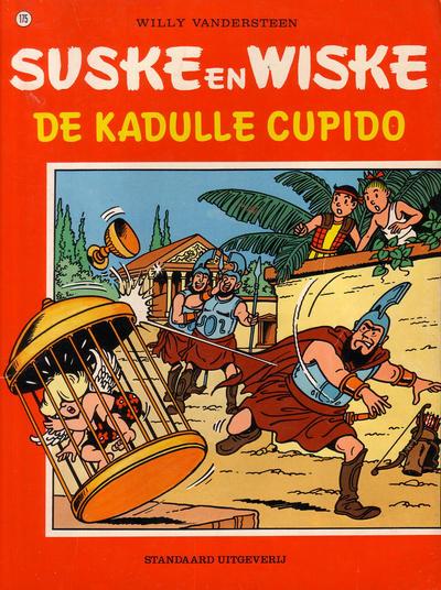 Cover for Suske en Wiske (Standaard Uitgeverij, 1967 series) #175 - De kadulle Cupido