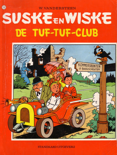 Cover for Suske en Wiske (Standaard Uitgeverij, 1967 series) #133 - De tuf-tuf-club