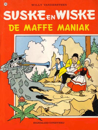 Cover for Suske en Wiske (Standaard Uitgeverij, 1967 series) #166 - De maffe maniak