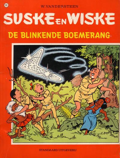 Cover for Suske en Wiske (Standaard Uitgeverij, 1967 series) #161 - De blinkende boemerang