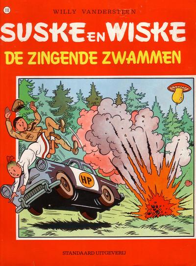 Cover for Suske en Wiske (Standaard Uitgeverij, 1967 series) #110 - De zingende zwammen