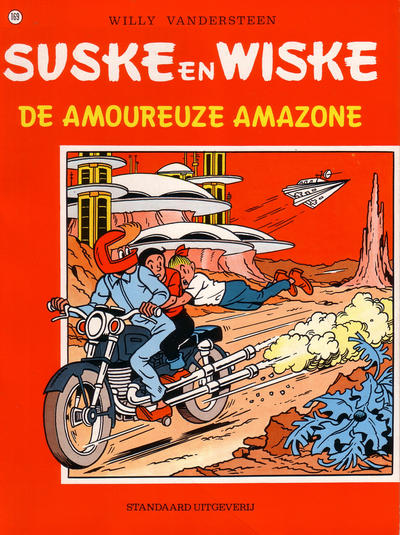 Cover for Suske en Wiske (Standaard Uitgeverij, 1967 series) #169 - De amoureuze amazone