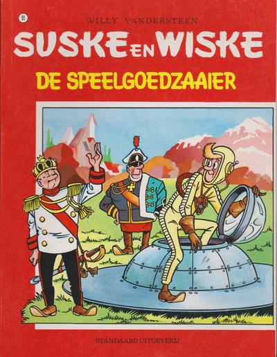Cover for Suske en Wiske (Standaard Uitgeverij, 1967 series) #91 - De speelgoedzaaier