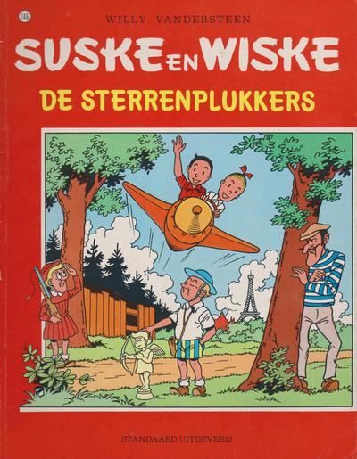 Cover for Suske en Wiske (Standaard Uitgeverij, 1967 series) #146 - De sterrenplukkers