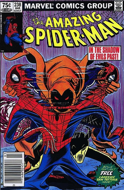 Cover for The Amazing Spider-Man (Marvel, 1963 series) #238 [Newsstand Edition]
