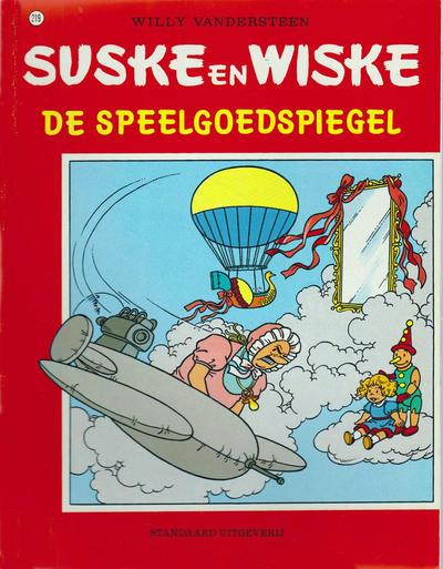 Cover for Suske en Wiske (Standaard Uitgeverij, 1967 series) #219 - De speelgoedspiegel
