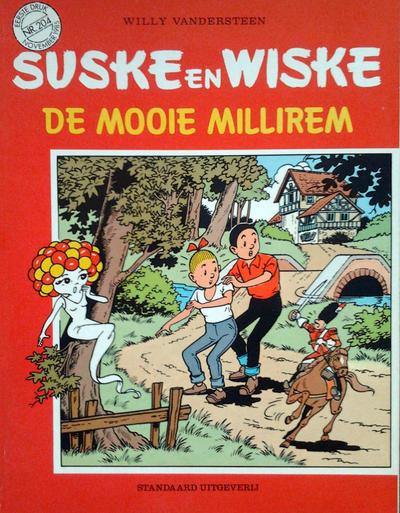 Cover for Suske en Wiske (Standaard Uitgeverij, 1967 series) #204 - De mooie millirem