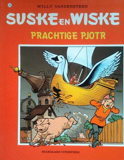 Cover for Suske en Wiske (Standaard Uitgeverij, 1967 series) #253 - Prachtige Pjotr [Herdruk 2008]