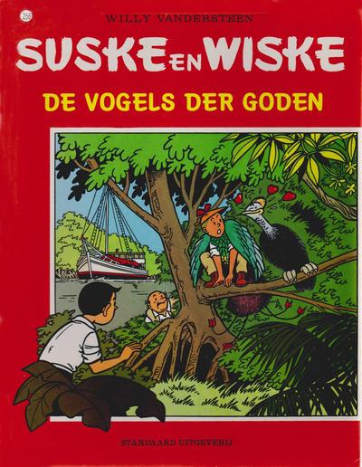 Cover for Suske en Wiske (Standaard Uitgeverij, 1967 series) #256 - De vogels der goden