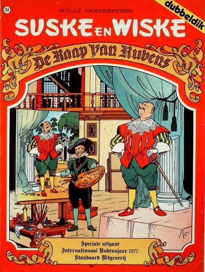 Cover for Suske en Wiske (Standaard Uitgeverij, 1967 series) #164 - De raap van Rubens