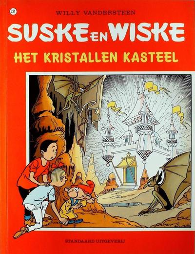 Cover for Suske en Wiske (Standaard Uitgeverij, 1967 series) #234 - Het kristallen kasteel