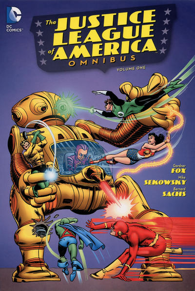 Cover for The Justice League of America Omnibus (DC, 2014 series) #1