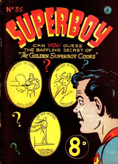 Cover for Superboy (K. G. Murray, 1949 series) #35
