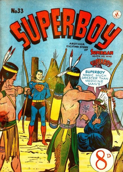 Cover for Superboy (K. G. Murray, 1949 series) #33