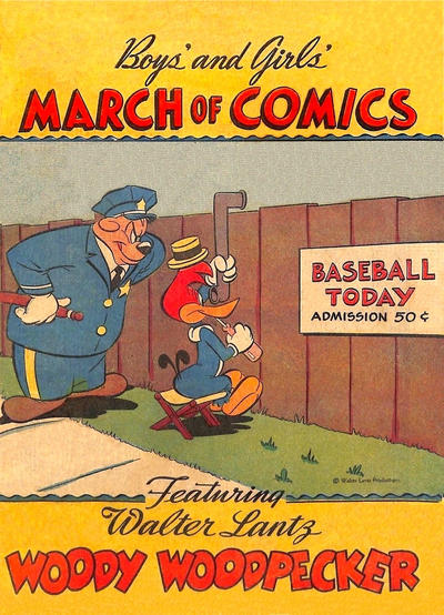 Cover for March of Comics (Western, 1946 series) #16