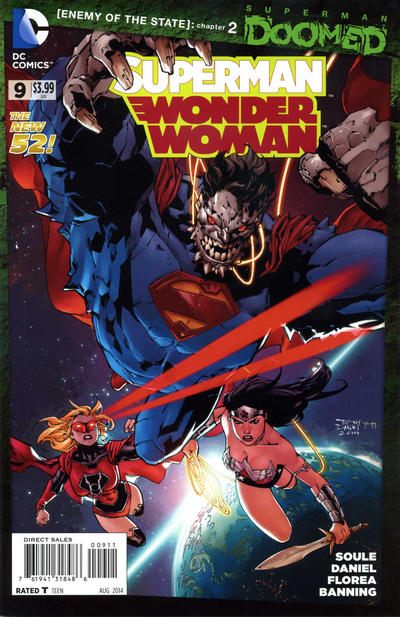 Cover for Superman / Wonder Woman (DC, 2013 series) #9