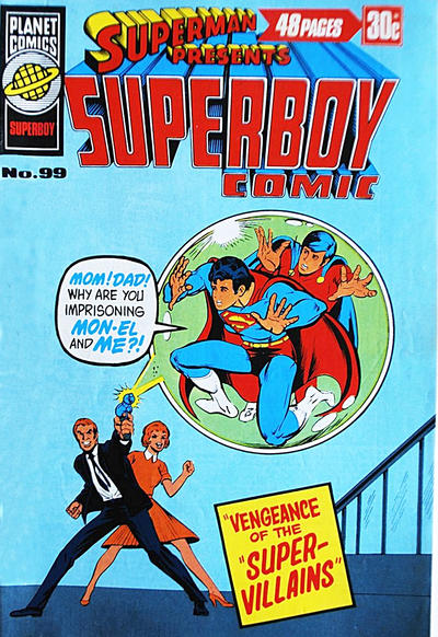 Cover for Superman Presents Superboy Comic (K. G. Murray, 1976 ? series) #99