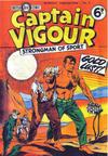 Cover for Captain Vigour (L. Miller & Son, 1952 series) #6