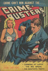 Cover for Crime-Busters (Horwitz, 1950 ? series) #16