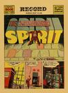 Cover Thumbnail for The Spirit (1940 series) #5/25/1941 [Philadelphia Record edition]