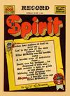 Cover Thumbnail for The Spirit (1940 series) #6/1/1941 [Philadelphia Record edition]