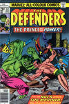 Cover Thumbnail for The Defenders (1972 series) #52 [British]