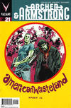 Cover for Archer and Armstrong (Valiant Entertainment, 2012 series) #21 [Cover B - Michael Walsh]