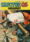 Cover for Sabotør Q5 (Serieforlaget / Se-Bladene / Stabenfeldt, 1971 series) #12/1984