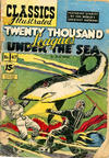 Cover for Classics Illustrated (Gilberton, 1947 series) #47 [HRN 94] - Twenty Thousand Leagues Under the Sea