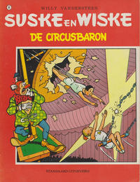Cover for Suske en Wiske (Standaard Uitgeverij, 1967 series) #81 - De circusbaron