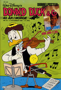 Cover Thumbnail for Donald Duck & Co (Hjemmet / Egmont, 1948 series) #45/1988
