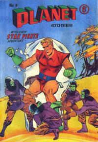 Cover Thumbnail for Planet Stories (Atlas Publishing, 1961 series) #5