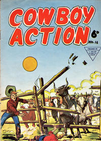 Cover Thumbnail for Cowboy Action (L. Miller & Son, 1956 series) #14