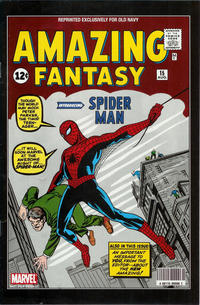 Cover Thumbnail for Amazing Fantasy [Old Navy Edition] (Marvel, 2009 series) #15