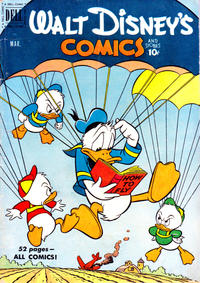 Cover Thumbnail for Walt Disney's Comics and Stories (Dell, 1940 series) #v11#6 (126)