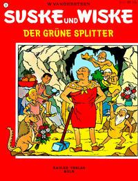 Cover Thumbnail for Suske und Wiske (Rädler, 1972 series) #3 - Der grüne Splitter