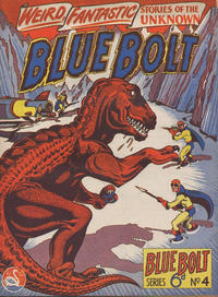 Cover Thumbnail for Blue Bolt (Gerald G. Swan, 1950 ? series) #4