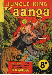 Cover Thumbnail for Kaänga Comics (H. John Edwards, 1950 ? series) #9
