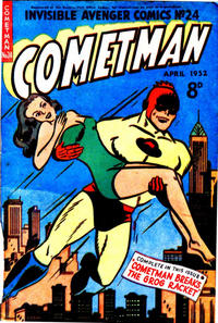 Cover Thumbnail for Invisible Avenger (Magazine Management, 1950 series) #24