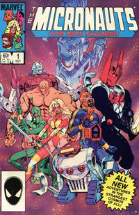 Cover Thumbnail for Micronauts (Marvel, 1984 series) #1 [Direct]