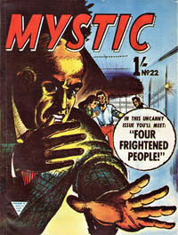 Cover Thumbnail for Mystic (L. Miller & Son, 1960 series) #22