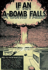 Cover for If an A-Bomb Falls (Commercial Comics, 1951 series)