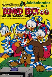Cover Thumbnail for Donald Duck & Co (Hjemmet / Egmont, 1948 series) #47/1988