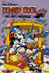 Cover Thumbnail for Donald Duck & Co (Hjemmet / Egmont, 1948 series) #49/1988