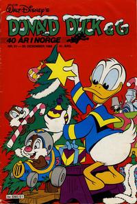Cover Thumbnail for Donald Duck & Co (Hjemmet / Egmont, 1948 series) #51/1988