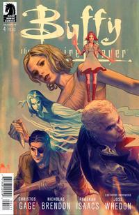 Cover Thumbnail for Buffy the Vampire Slayer Season 10 (Dark Horse, 2014 series) #4 [Steve Morris Cover]