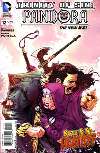 Cover Thumbnail for Trinity of Sin: Pandora (DC, 2013 series) #12