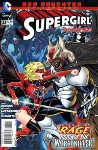 Cover Thumbnail for Supergirl (DC, 2011 series) #32 [Direct Sales]