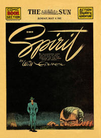 Cover Thumbnail for The Spirit (Register and Tribune Syndicate, 1940 series) #5/4/1941 [Baltimore Sun edition]