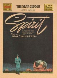Cover Thumbnail for The Spirit (Register and Tribune Syndicate, 1940 series) #5/4/1941 [Newark NJ Star Ledger edition]